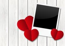 Romantic photo frame Royalty Free Stock Photos