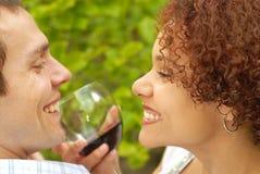 Romantic picnic stock images
