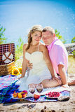 Romantic picnic Royalty Free Stock Photography