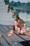 Romantic picnic Royalty Free Stock Images