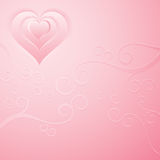 Romantic pink background Stock Photo