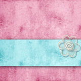 Romantic pink and blue background, with copy space Stock Photography