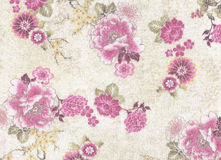 Romantic pink floral pattern. Stock Image