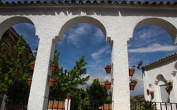 Romantic place in Iznajar, Andalucia; Spain Stock Photography