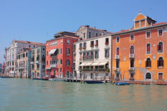 Romantic places in venice Royalty Free Stock Image