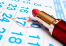 Romantic plans Stock Photo