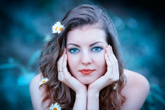 Romantic portrait Royalty Free Stock Photography