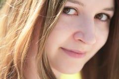 Romantic portrait of the girl Royalty Free Stock Photo
