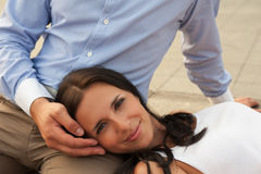 Romantic portraits Royalty Free Stock Photography