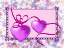 Romantic postcard Royalty Free Stock Photo
