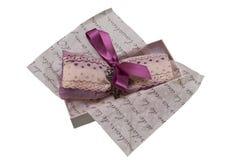 Romantic present Stock Photo