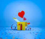 Romantic present Royalty Free Stock Photography