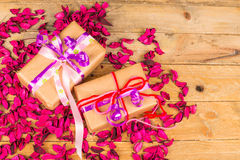 Romantic presents Royalty Free Stock Image