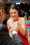 Romantic proposal Royalty Free Stock Images