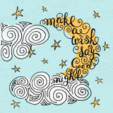 Romantic quote Royalty Free Stock Photo