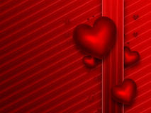 Romantic red background Royalty Free Stock Photography