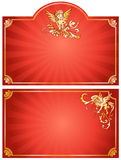 Abstract cupid background Stock Photography