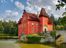 Romantic Castle Cervena Lhota Royalty Free Stock Image
