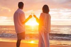 Romantic Reitred Couple stock image