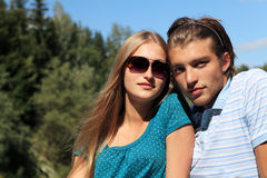 Romantic relations Royalty Free Stock Images