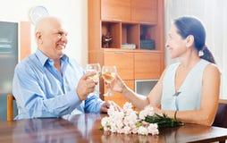 Romantic rendezvous Royalty Free Stock Photos