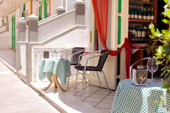 Free Romantic Restaurant - Table And Chairs Royalty Free Stock Images - 20150649