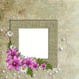 Romantic retro background Royalty Free Stock Image