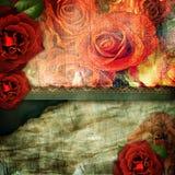 Romantic retro background Stock Image