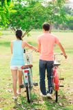 Romantic riders Royalty Free Stock Photos