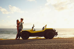 Romantic road trip in nature Stock Images