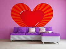 A romantic room Royalty Free Stock Images