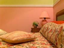 Romantic room interior. Interior of a hotel room in classic style Stock Photography