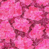 Romantic rose pattern. Stock Photography