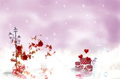 Romantic Rouses Royalty Free Stock Images