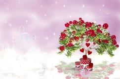 Romantic Rouses Stock Photo