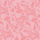 Romantic royal wallpaper Stock Photography