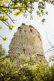 Romantic ruin, Girls castle in Palava, Czech Royalty Free Stock Image