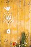 Romantic rustic background Stock Photography