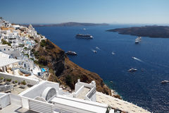 Romantic Santorini. Greece. Stock Images
