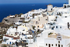 Romantic Santorini island, Greece Stock Photos