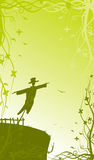 Romantic scarecrow Royalty Free Stock Images