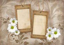 Romantic scrapbook background Stock Photo