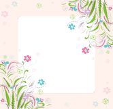 Romantic scrapbooking for invitation, greeting Stock Photography