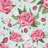 Romantic seamless floral pattern Stock Photo