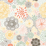 Romantic seamless floral pattern. Royalty Free Stock Photography