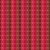 Romantic seamless floral pattern. Endless texture can be used for printing onto fabric and paper, scrap booking. Retro red and bro Stock Photos