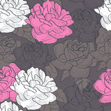 Romantic seamless pattern. Universal template for greeting card, web page, background Stock Images