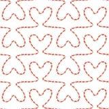 Romantic seamless pattern Stock Photos