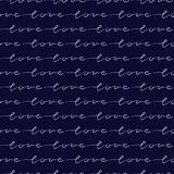 Romantic Seamless Pattern For Valentine`s Day, Vector Illustrati Royalty Free Stock Photos
