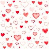 Romantic seamless pattern Royalty Free Stock Photo